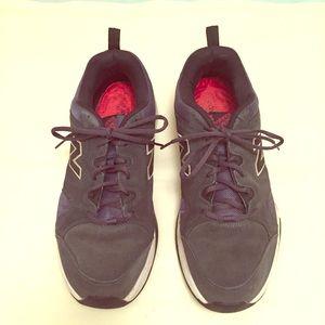 MEN'S New Balance black running shoes